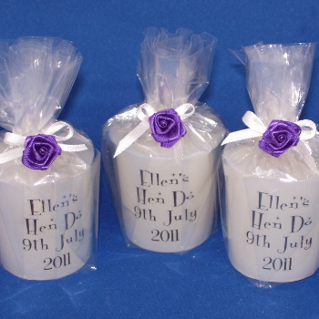 Hen Night Candles